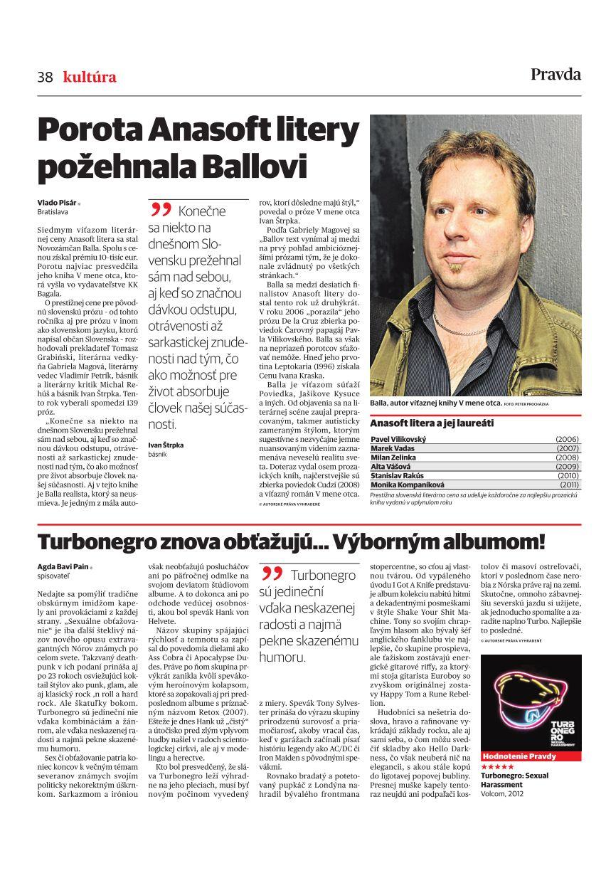 Turbonegro znova obťažujú… Výborným albumom! - Kultúra - Hudba - Pravda.sk